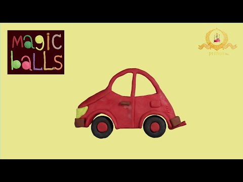 Magic Balls - Car - Educational cartoons for kids