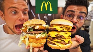On mange les burgers secrets du McDo (feat. Alan FoodChallenge)