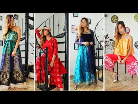 4 Festive Outfits From Pantaloons | Debasree Banerjee