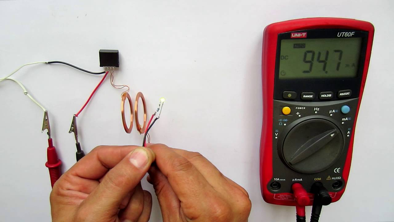Бесконтактная зарядка для телефона своими руками 55