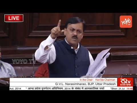 BJP MP G.V.L Narasimharao Speech about AP Special Status in Rajya Sabha | PM Modi | YOYO TV NEWS