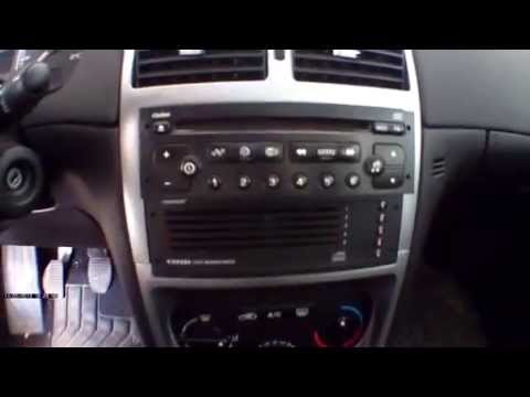 peugeot 207 307 radio removal without keys youtube. Black Bedroom Furniture Sets. Home Design Ideas