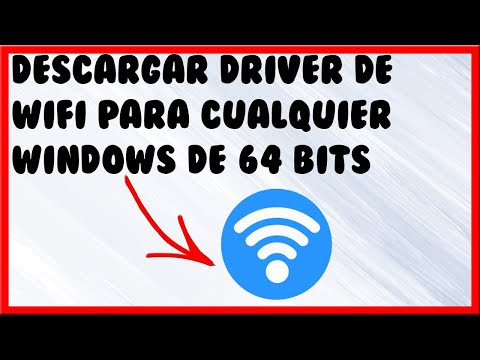 COMO DESCARGAR INSTALAR DRIVER  WIFI PARA WINDOWS VISTA.7.8.8.1.10  DE 64 BITS  2016