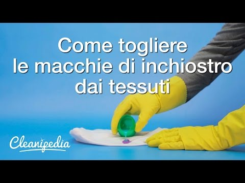 come togliere le macchie gialle dai materassi
