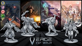 Now on Kickstarter: Verge of War | SCI-FI Wargame  SPACE PIRATES / ASGARS