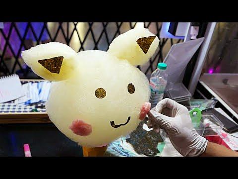 Amazing Cotton Candy Art - Pikachu Pokemon