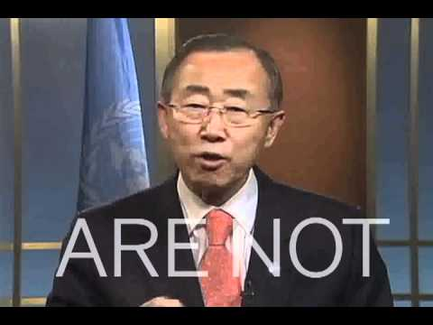 ‪**Inspiring video** Ban Ki-moon: The Time Has Come. REMIX!‬