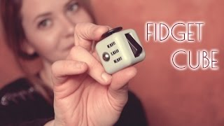 ASMR Stress abbauen ♡ Stress Relief with Fidget Cube*Stress Cube | Review in German/Deutsch
