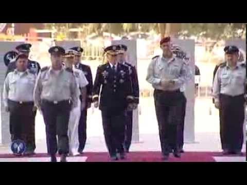 IDF Honor Guard For Gen. Martin E. Dempsey