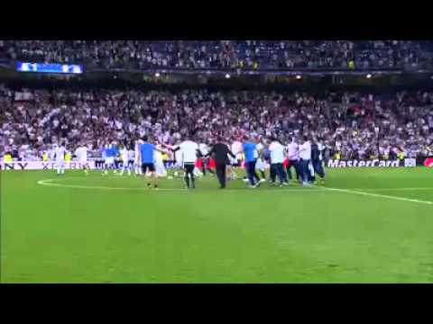 Real Madrid Celebrations After Winning Against Manchester City In UEFA Champions League Semi Final!