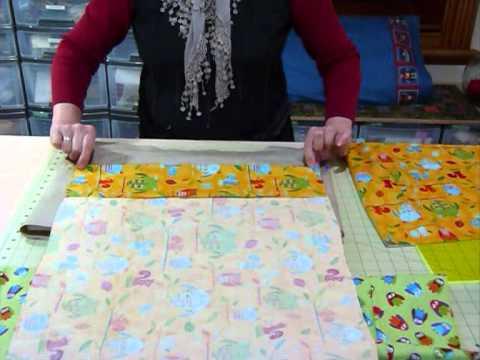 How to make a Pillow Case - Quilting Tips & Techniques 097