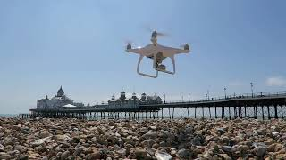 FLYING THE DJI PHANTOM 4 OVER EASTBOURNE PIER  ** 8TH FLIGHT **