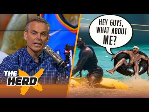 Colin Cowherd on Melo's uncertain future, Popovich's overwhelming system | NBA | THE HERD