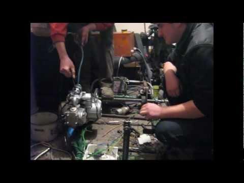 GOKART ATV 110 AUTOMAT BUDOWA+FILM Quadriplegic Driver  Tetraplegia