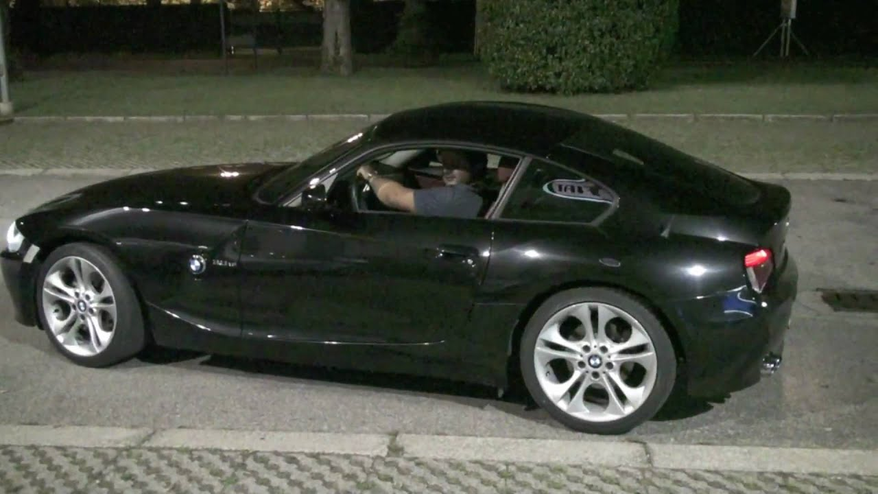 Andrea Z4 Coupe 3 0si E86 Exhaust Youtube