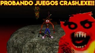 Probando Videojuegos Aterradores Crash.EXE con Pepe el Mago