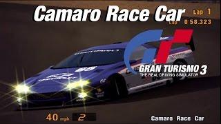 Gran Turismo 3: Chevrolet Camaro Race Car | Laguna Seca