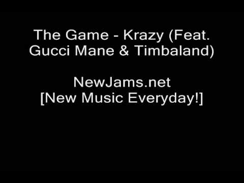 The Game - Krazy (Feat. Gucci Mane & Timbaland) NEW 2009
