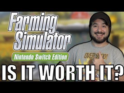 Farming Simulator - Nintendo Switch Edition - Is It Worth It?   8-Bit Eric