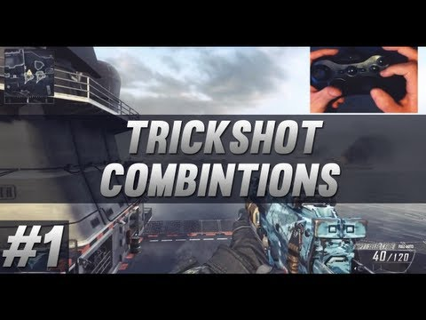 Black Ops 2 Trickshot Combination Tutorial #1
