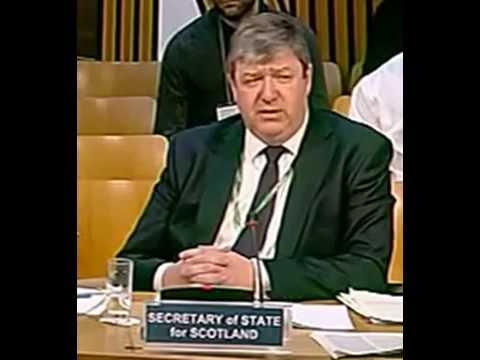 Alistair Carmichael silences his own official - All By himself