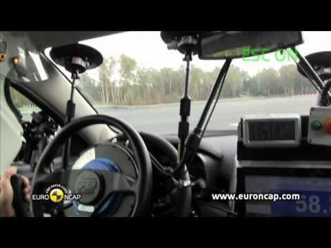 Euro NCAP | Chevrolet Malibu | 2011 | Электронный контроль устойчивости