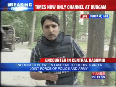 Jammu and Kashmir: Encounter with terrorists in Budgam