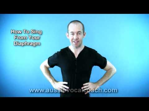 How 2 Sing From Your Diaphragm