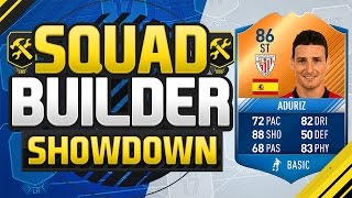 FIFA 17 SQUAD BUILDER SHOWDOWN!!! MAN OF THE MATCH ADURIZ!!! Fifa 17 Squad Duel
