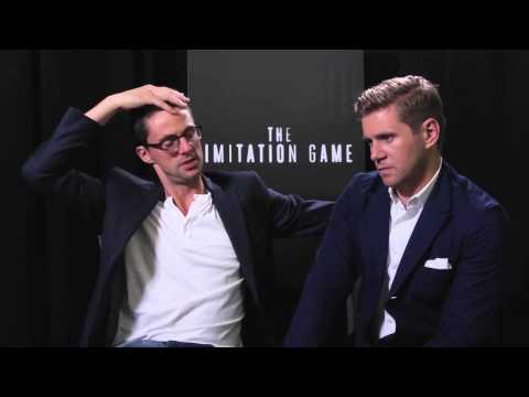 The Imitation Game Matthew Goode and Allen Leech