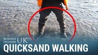 How to walk on quicksand without falling through
