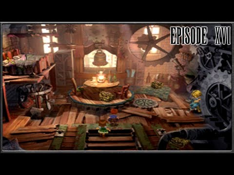 Final Fantasy IX - Lindblum Theatre District, Tantalus HQ - Episode 16