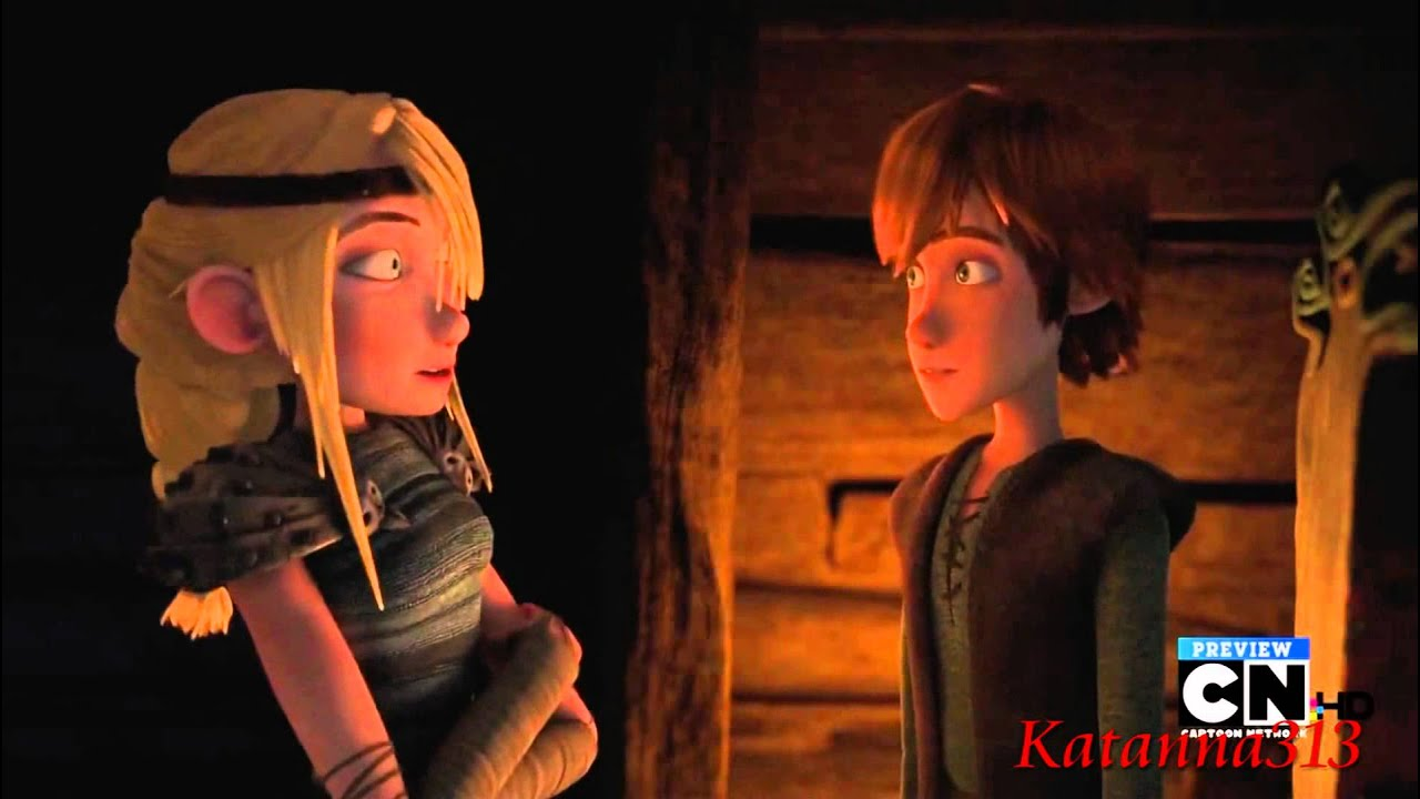 Jack Frost X Astrid X Hiccup