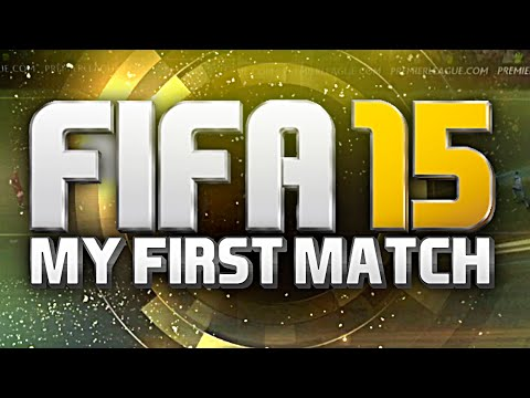 MY FIRST FIFA 15 ULTIMATE TEAM MATCH ! | GOAL-LINE TECHNOLOGY !!