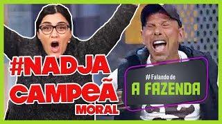 """🔴RAFAEL É CAMPEÃO GRAÇAS A NADJA   COMENTANDO a FINAL de  """"A FAZENDA 10"""""""