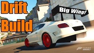 Forza Horizon 2 | Bentley Continental GT Speed | RWD Swap Drift Build