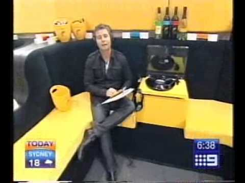 [yellow tail] Vinyl Bar on The Today Show, Channel 9