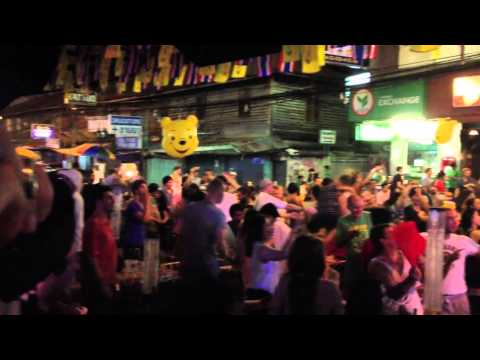 Thailand - Bangkok - Night life at Khao San Road