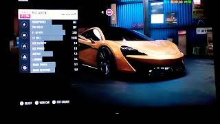 McLaren 570s modifications! NFS Payback.