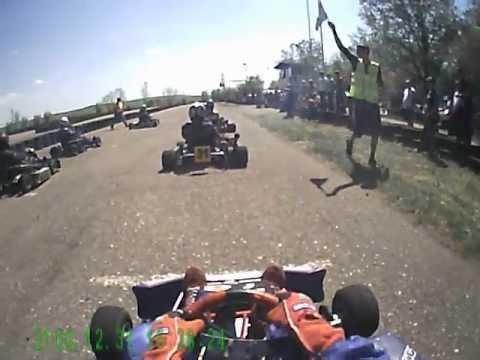 Трошин М. Апшеронск. Картинг. 1-й этап 2012 (1-я часть)