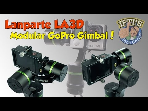 Lanparte LA3D - The Detachable Modular GoPro 3-Axis Gimbal! (Handheld + Wired) : REVIEW