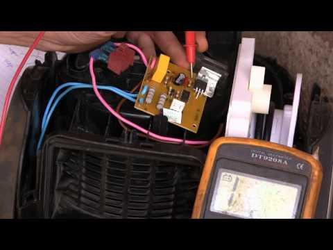 Ремонт пылесосов электролюкс своими руками