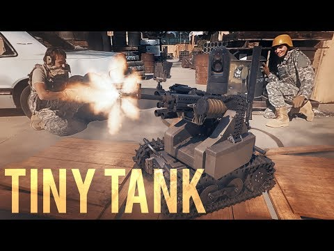 Tiny Tank (360 VR video!)