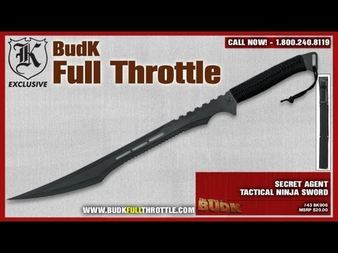 Secret Agent Tactical Ninja Sword Overview (Sword Used By ...