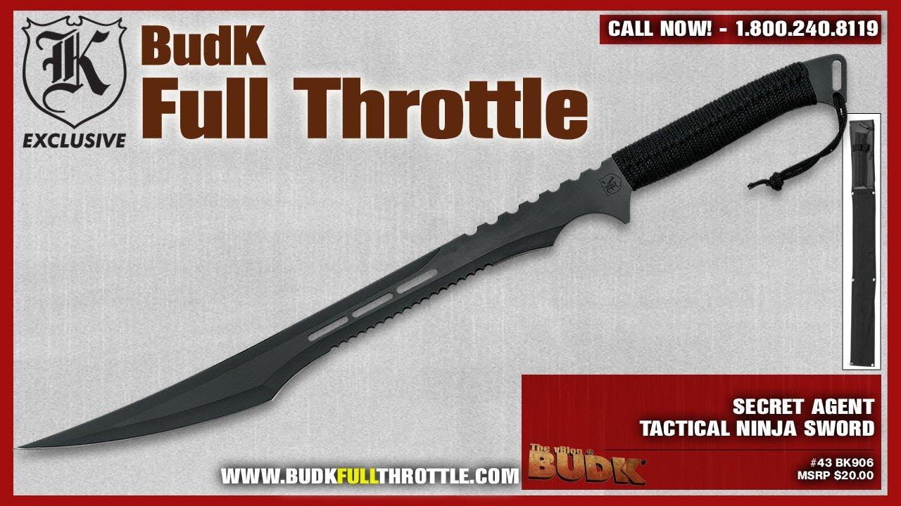 Secret Agent Tactical Ninja Sword - $12.99 - YouTube