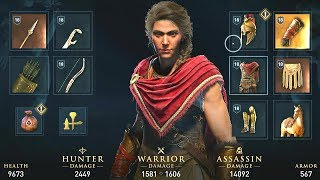 Assassin's Creed Odyssey Early Gameplay: Customization, Combat, & Abilities!