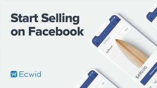Start Selling on Facebook