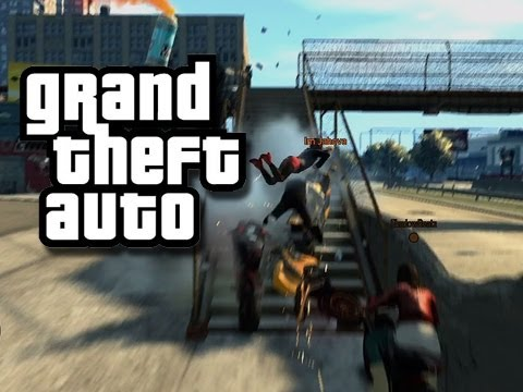 GTA - Crazy Races and Ramps #7 (Funny GTA Moments)