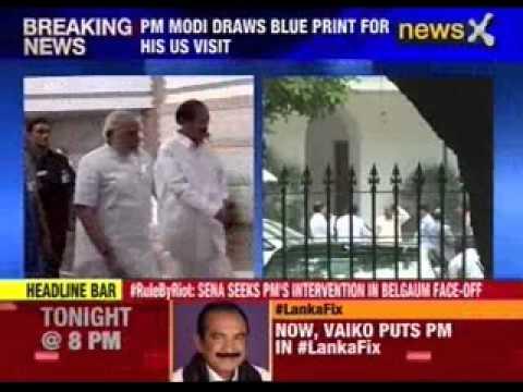 Narendra Modi meets HM Rajnath Singh and MEA Shushma Swaraj