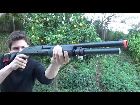 ASG FRANCHI SAS 12 3 BURST/TRI-SHOT SHOTGUN Airsoft Gun Review